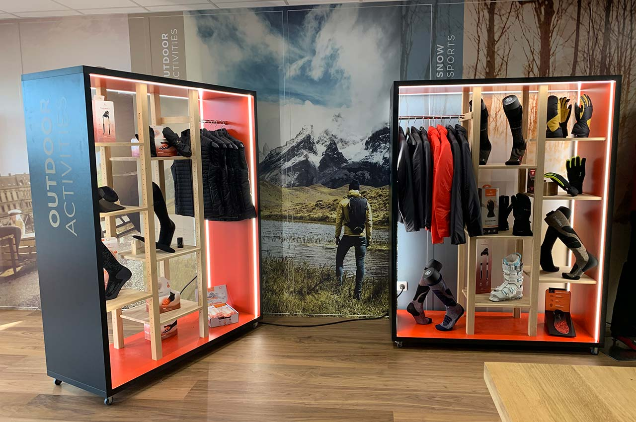 agencement showroom Sidas World